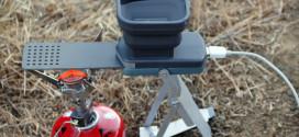 Empresa de reciente creación crea un equipo que carga dispositivos electrónicos con agua hirviendo.